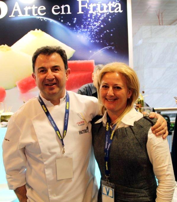 Martín Berasategui y Maripi Gadet