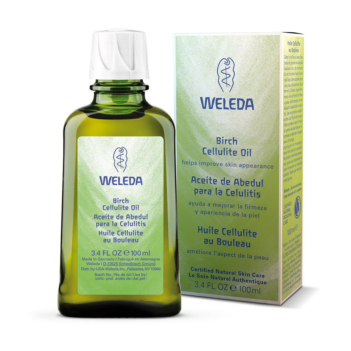 Aceite de Abedul de Weleda con packaging_Precio 21,90 euros